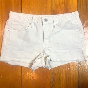 3/$27 Gap Slim Cut-Off Khaki Jean Shorts